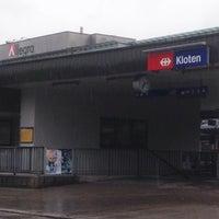 Photo taken at Bahnhof Kloten by Jim M. on 4/27/2017
