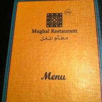 Photo taken at Mughal's Restaurant by Amanda Z. on 1/17/2013