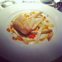 Photo taken at Alain Ducasse at The Dorchester by Amanda Z. on 4/6/2013