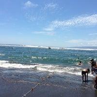 Photo taken at Playa San Antonio by diego j. on 2/10/2013