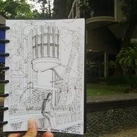 Photo taken at Gedung Rektorat by Erlangga W. on 7/30/2014