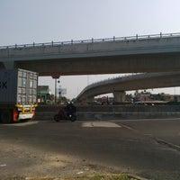 Photo taken at Fly Over Jombor Jalan Magelang by Erlangga W. on 9/5/2014