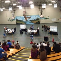 Photo taken at Creekland Middle School by Greg B. on 12/8/2012