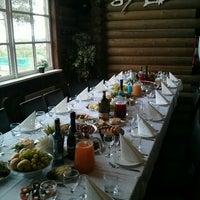Photo taken at Ресторан «Горка» by Anna on 6/10/2016
