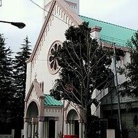 Photo taken at サレジオ教会 (カトリック碑文谷教会) by あきぱんだ @. on 3/23/2013