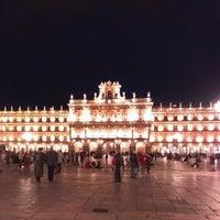 Photo taken at Plaza Mayor by Ecclesius de Vatum on 4/12/2013