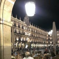 Photo taken at Plaza Mayor by Ecclesius de Vatum on 7/8/2013