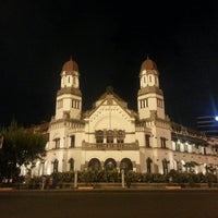 Photo taken at Lawang Sewu by Daniel G. on 5/26/2013