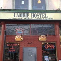 Photo taken at The Cambie by Chris G. on 3/29/2013