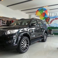 Photo taken at Toyota Balintawak by Vince D. on 6/29/2013