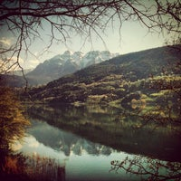 Photo taken at Lago di Caldonazzo by Fabio S. on 4/24/2013