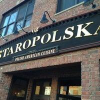 Снимок сделан в Staropolska Restaurant пользователем Joe F. 4/1/2013