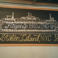 Photo taken at Flagship Brewing Co. by Ross P. on 8/9/2015