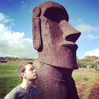 Photo taken at Easter Island by Harlan V. on 5/20/2013