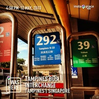 Photo taken at Tampines Bus Interchange by Chenee L. on 5/12/2013