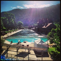 Photo taken at Glenwood Hot Springs by Colleen H. on 6/10/2013