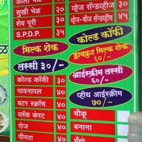 Photo taken at Madhura Bhel Puri by Umang O. on 3/16/2014