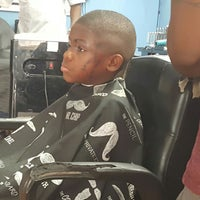 Photo taken at Fadem Up Cuttem Down Barber Shop by Hyacinth ?? P. on 8/13/2017