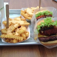 Photo taken at Shake Shack by TaLaL A. on 12/10/2012