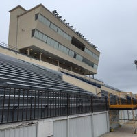 Photo taken at Leo Buckley Stadium by Jerry W. on 10/7/2016