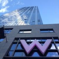 Снимок сделан в W New York - Downtown пользователем Jose D R. 10/21/2012