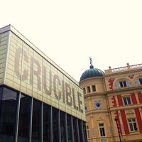 Photo taken at Crucible Theatre by Gaz on 8/6/2013