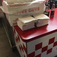 Photo taken at Five Guys by Chris Z. on 2/28/2017