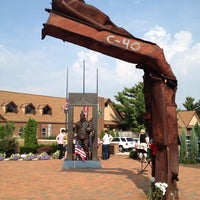 Photo taken at First Responders Park by Ty B. on 9/11/2013