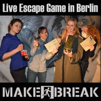 Photo taken at Make a Break - Escape Room Berlin by Make a Break - Escape Room Berlin on 7/5/2016