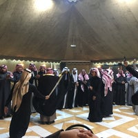 Photo taken at Al Jawharah Hall by Ahmed A. on 2/3/2017