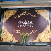 Photo taken at Grage Sangkan Hotel & Spa by Henry M. on 1/18/2013