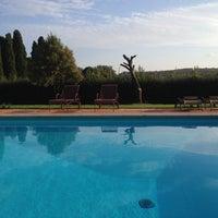 Photo taken at Castello Poggiarello by Gabriela on 10/11/2014