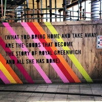 Photo taken at Greenwich DLR Station by Ross C. on 4/23/2013