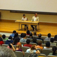 Photo taken at Richard White Lecture Hall by Tuvara K. on 9/17/2013