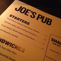 Foto tomada en Joe's Pub at The Public por Patrick M. el 12/23/2012