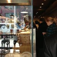 Photo taken at The Hummus & Pita Co by Solomon O. on 12/18/2012