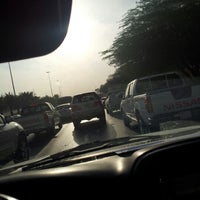 Photo taken at King Khaled Rd by Omar A. on 10/14/2012
