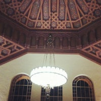 Photo taken at UCLA Powell Library by Janine S. on 12/11/2012