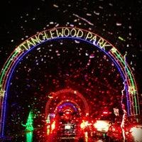 Photo taken at Tanglewood Festival of Lights by Matt B. on 12/21/2012