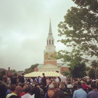 Photo taken at Hearn Plaza by Matt B. on 5/20/2013