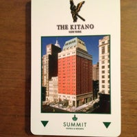 Photo taken at The Kitano New York Hotel by Shunji N. on 1/31/2013
