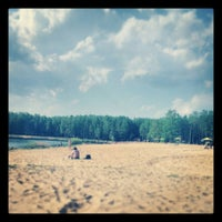 Photo taken at Зарёвское озеро by Кирилл П. on 5/12/2013