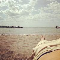 Photo taken at Lakeview Beach by Derek T. on 5/21/2013