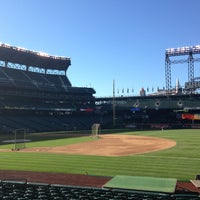 Photo taken at First Base Dugout by Michael P. on 6/4/2013
