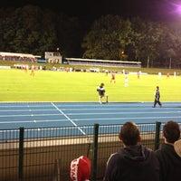 Photo taken at Stade Fallonstadion by Julia M. on 9/26/2012