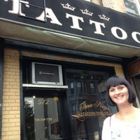 Photo taken at Three Kings Tattoo Parlor by Jeff S. on 7/22/2013