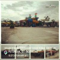 Photo taken at Kolam Renang Perumahan Taman Bunga Nabontar by Sri Ratu S. on 2/24/2013