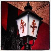 Photo taken at Cafe Guldhornene by Jeppe M. on 5/23/2013