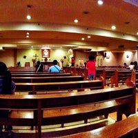 Photo taken at Chapel of the Holy Family by Gerard K. on 6/2/2013