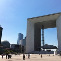 Photo taken at Grande Arche de la Défense by John R. on 6/4/2013